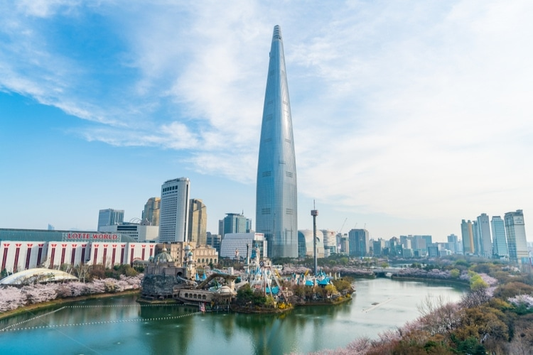 Lotte World Tower architecture