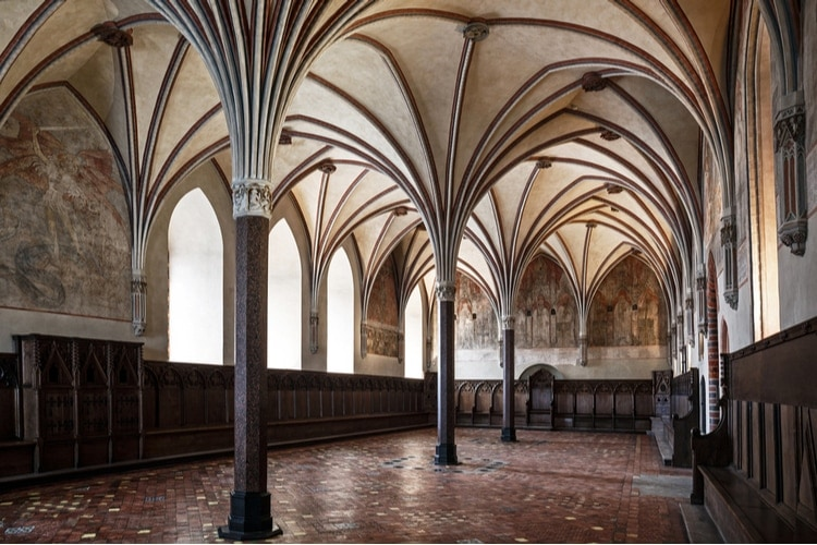 El interior de Malbork