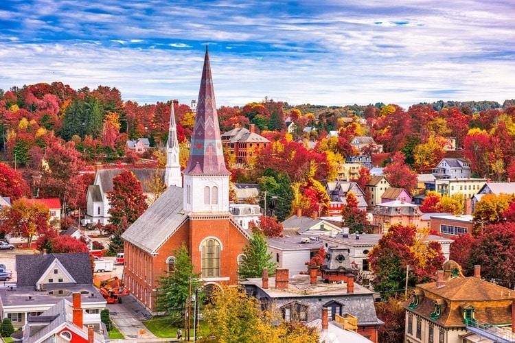 Montpelier city in Vermont