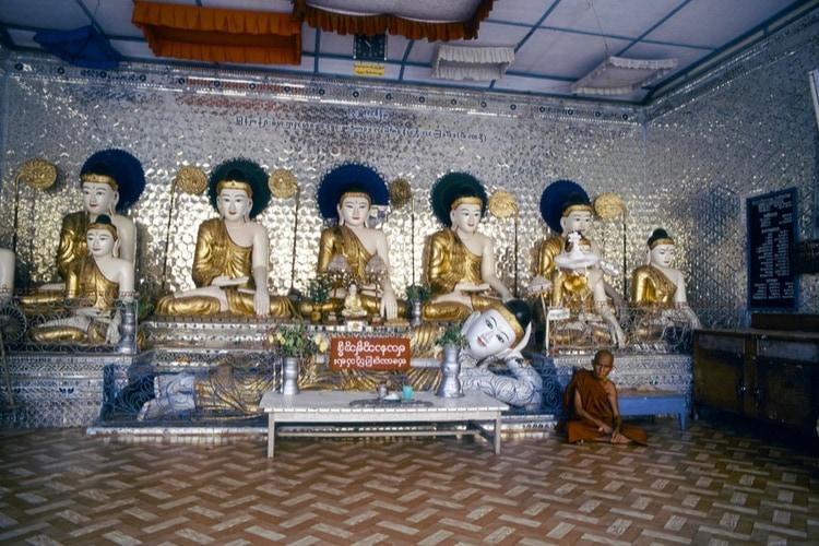 Sanctuary of Schwedagon Pagoda