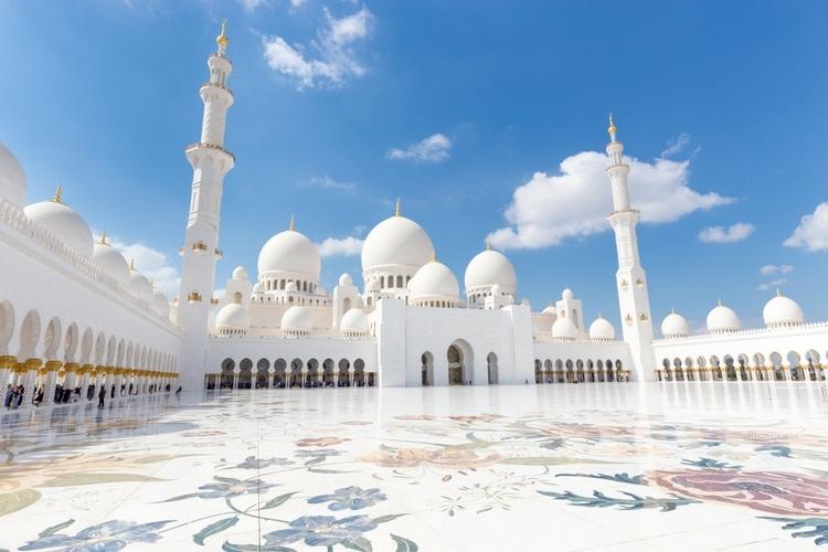 Sheikh Zayed Moskén i Abu Dhabi