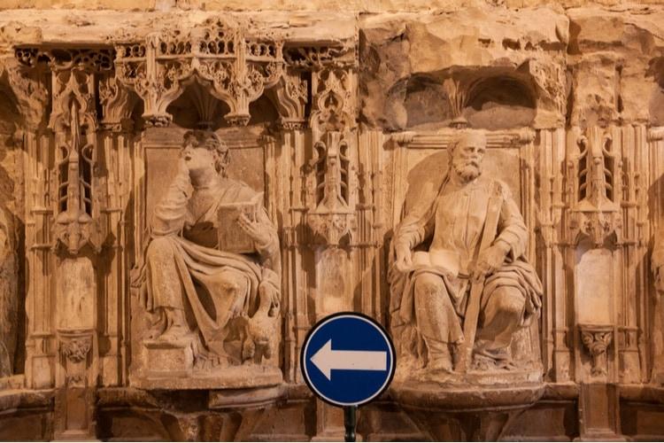Statyer i Burgoskatedralen
