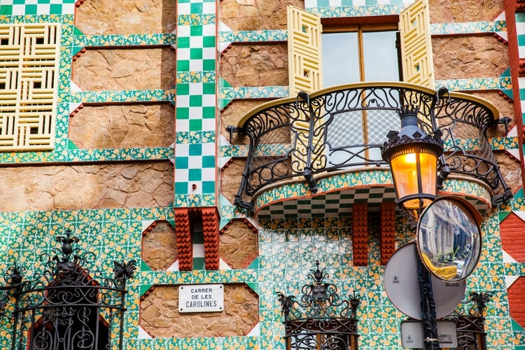 Vicens house by Gaudi