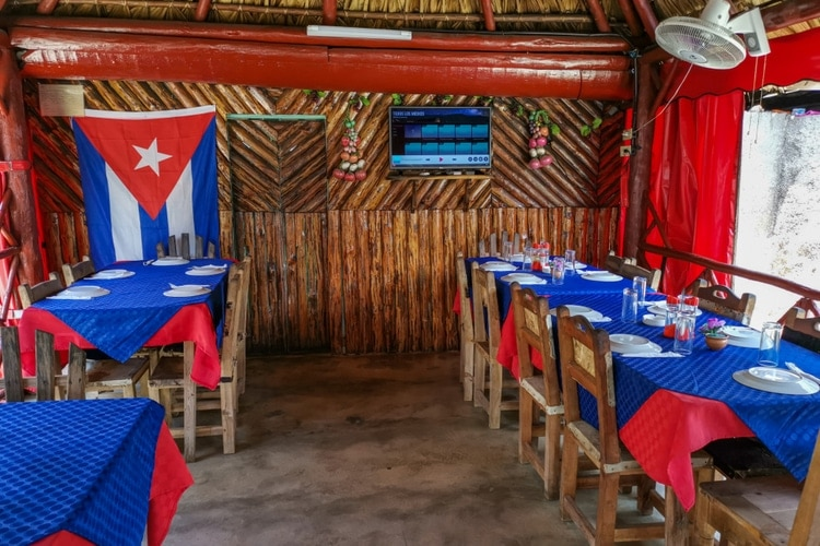 Eat Cuban food at a local Paladar