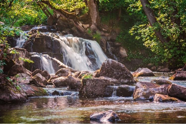 Hallamölla vattenfall