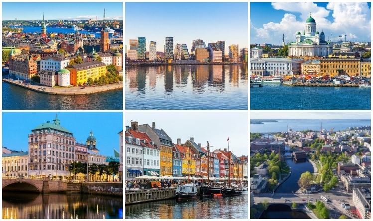 Nordens största städer