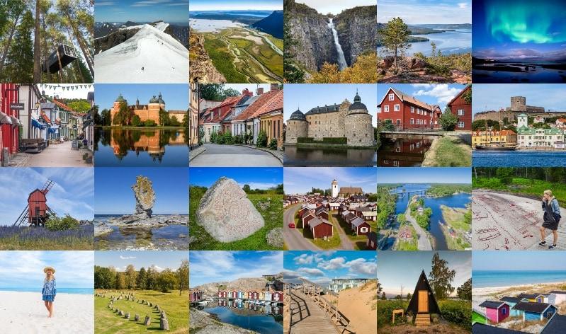 Semester i Sverige – Tips på resmål och aktiviteter i hela landet