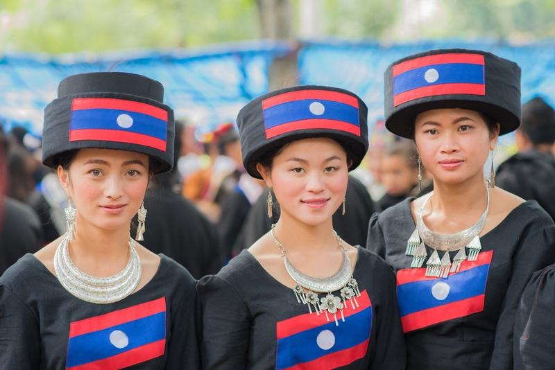 Ethnic folk group in Laos