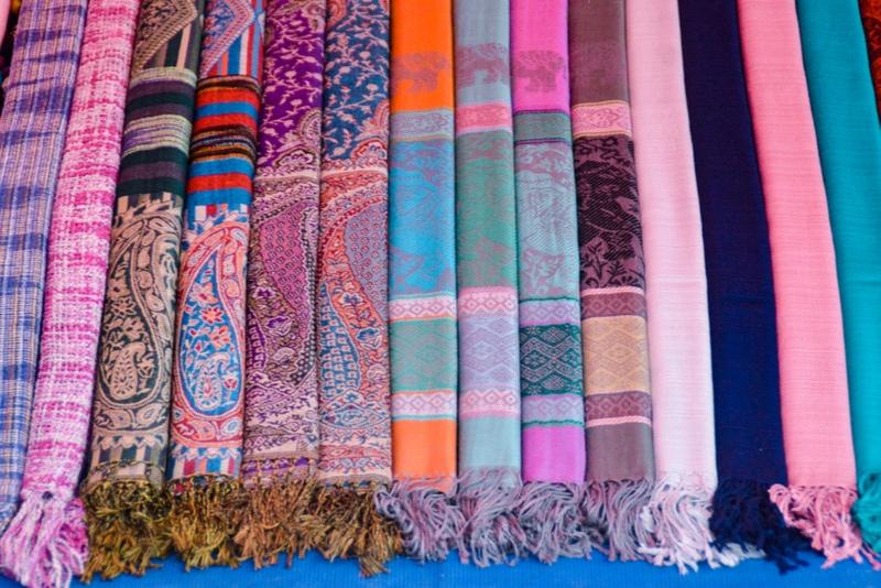 Laotian silk