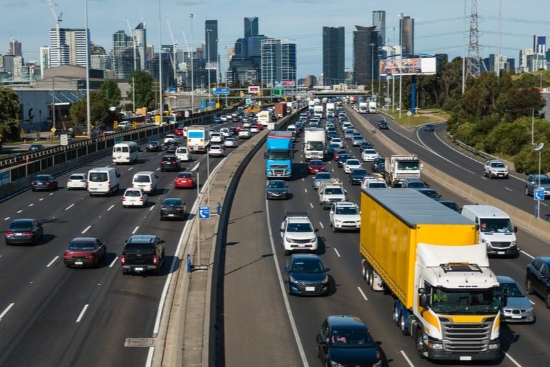 Left-hand side traffic in Australia