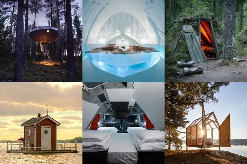 Annorlunda Hotell i Sverige