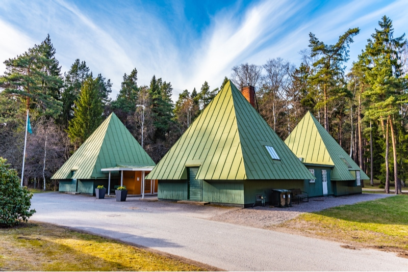 Skogskyrkogårdens besökscentrum