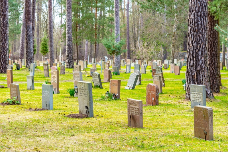 Skogskyrkogårdens gravplats