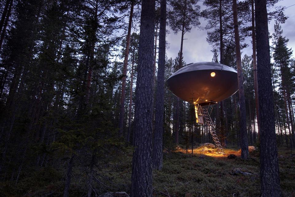 Tree Hotel - UFO