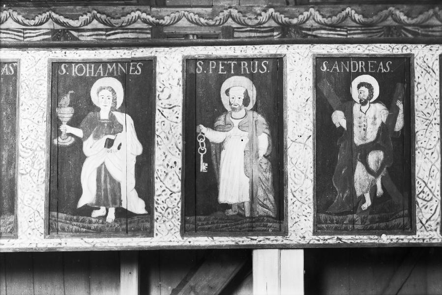 målningar i hedareds stavkyrka