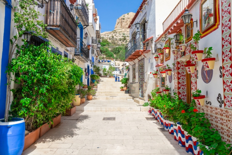 Alicante old town