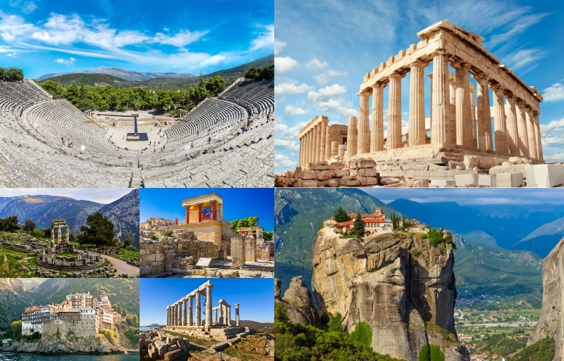 7 Wonders of Greece