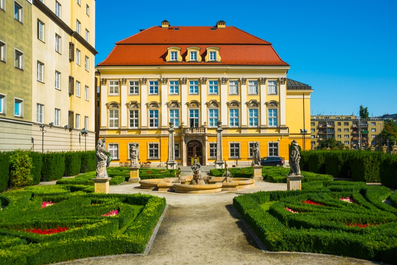Royal Palace in Wroclaw
