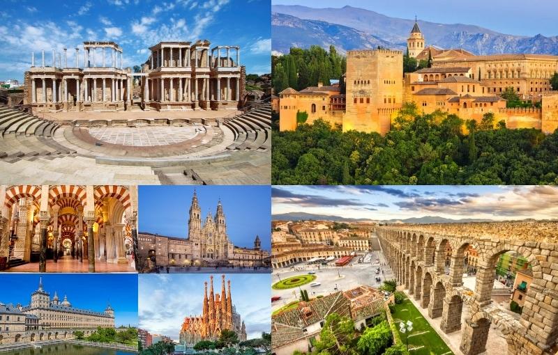 Spaniens Sju Underverk