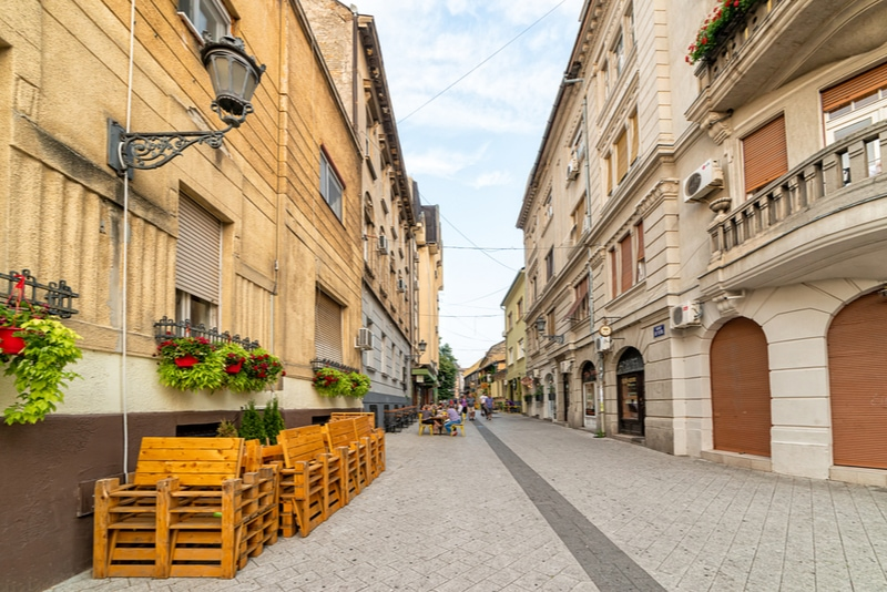 Laze Teleckog street