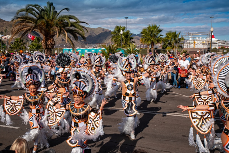 Karnevalen på Teneriffa