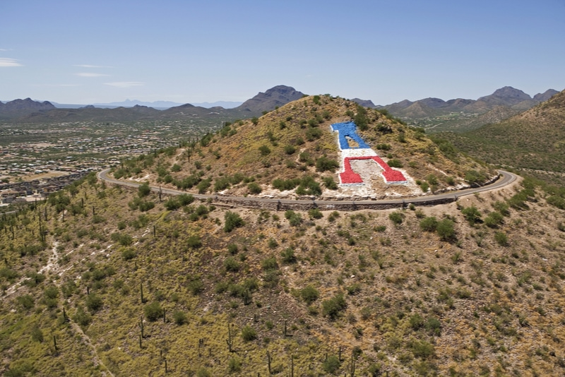 Sentinel Peak in Tucson Arizona