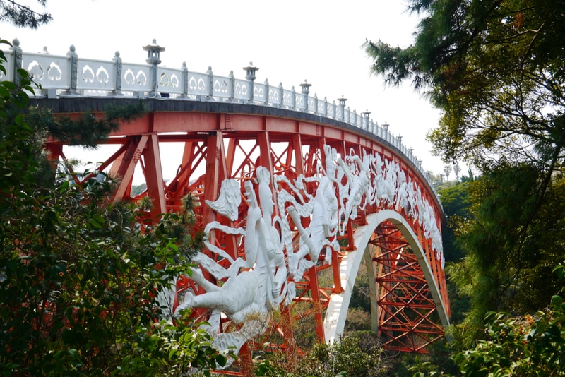 Seonim Bridge in Jeju Island