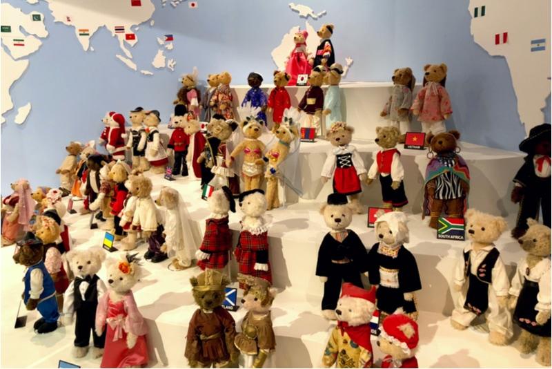 Teddy Bear Museum in Jeju Island