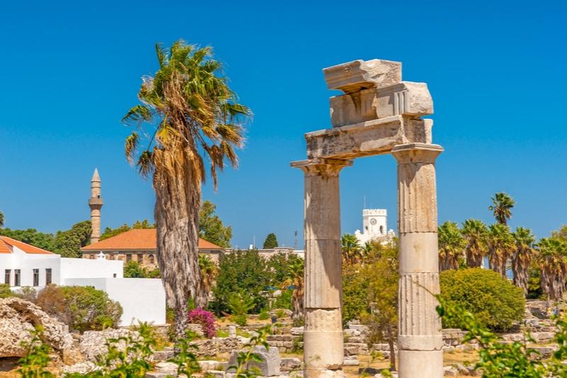 Ancient Agora in Kos