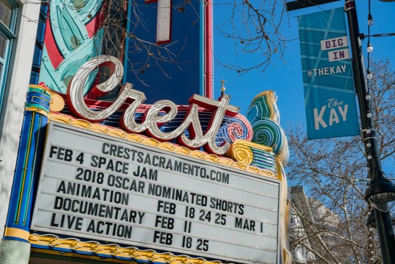 Crest Theatre in Sacramento