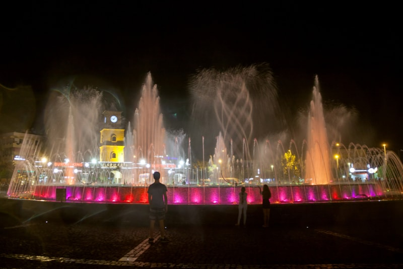 Dancing Fountain in Marmaris