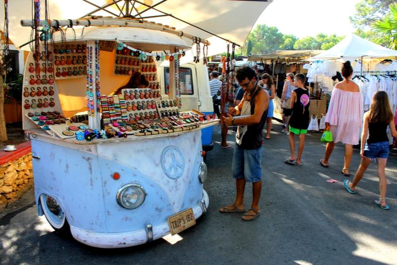 Hippy market in Ibiza