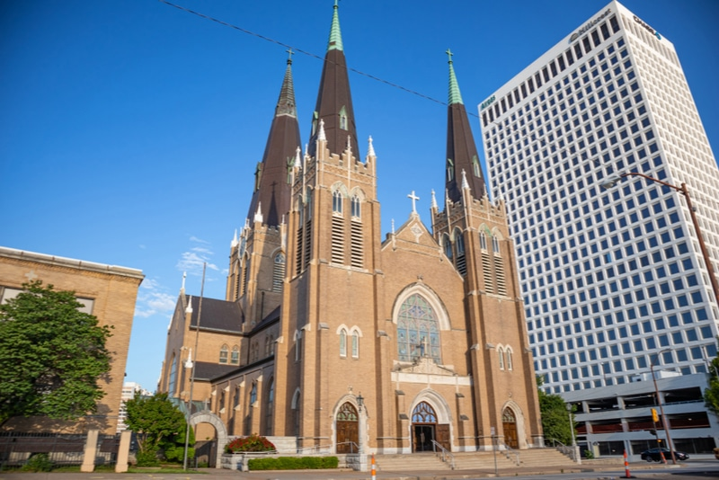Holy Family Cathedral in Tulsa