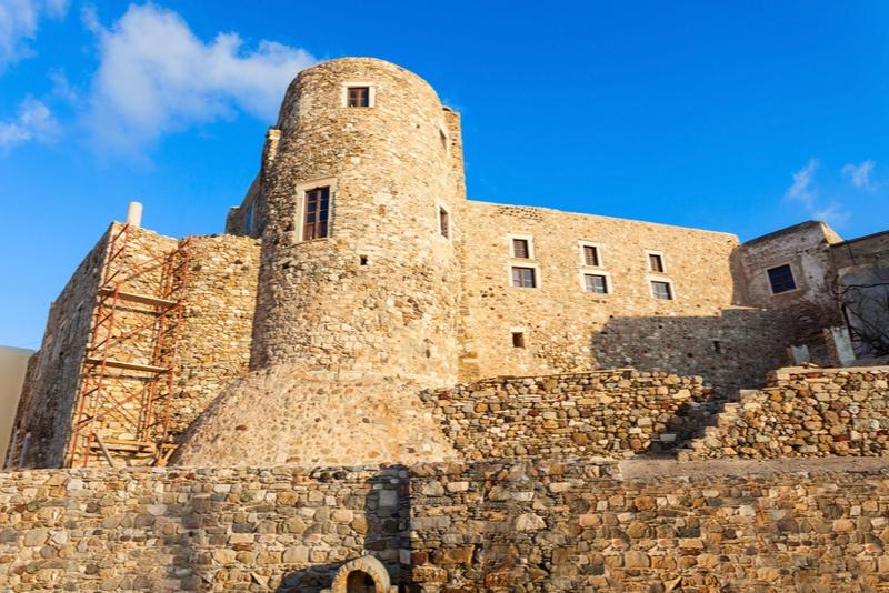 Kastro castle naxos
