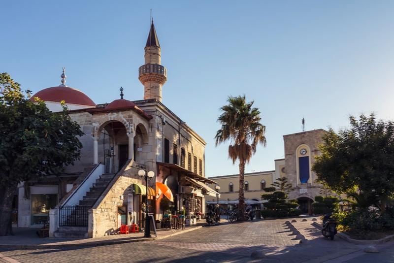Ottoman Mosque in Kos Town