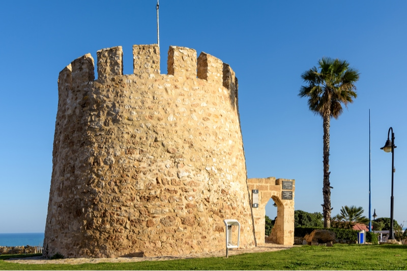 Torre del Moro in Torrevieja Spain