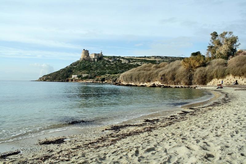 Calamosca Beach