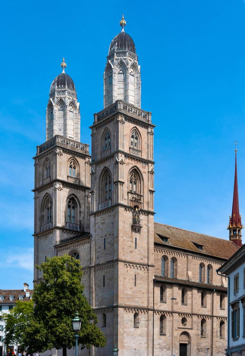 Grossmünster in Zurich