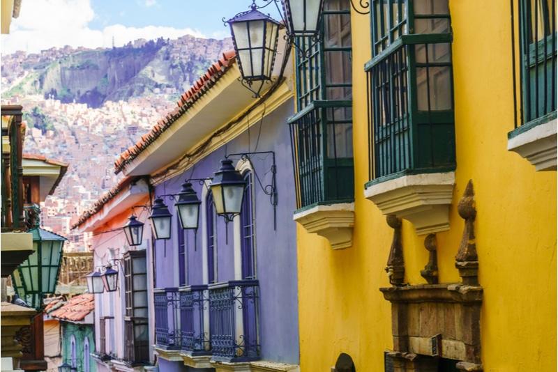 Jaen Street in La Paz