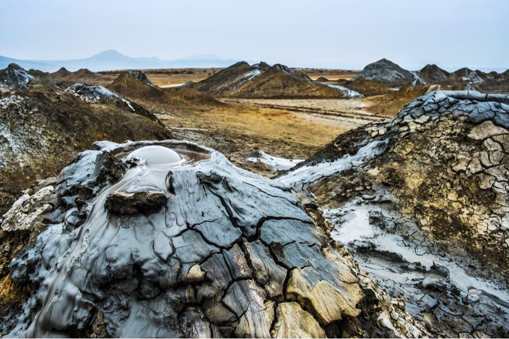 Mud Volcanoes of Azerbaijan