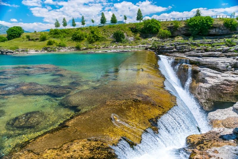 Niagara fall in Montenegro
