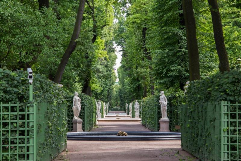The Summer Garden saint petersburg