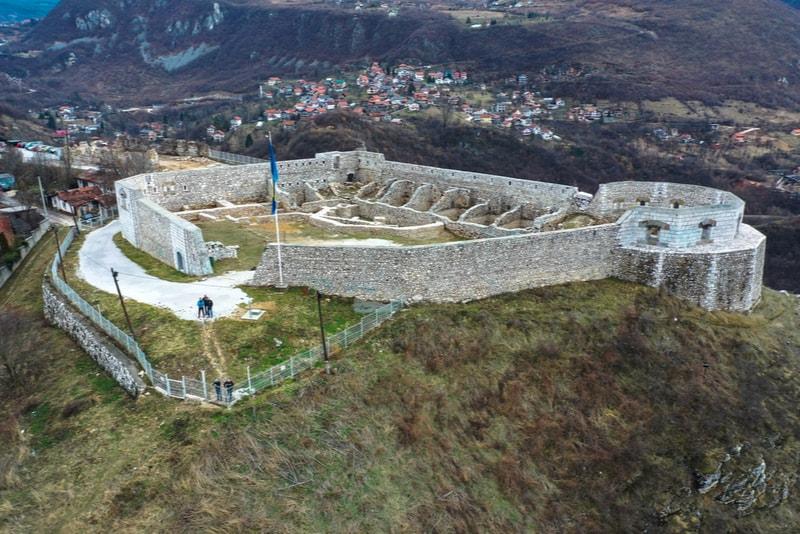 The White Fortress in Sarajevo