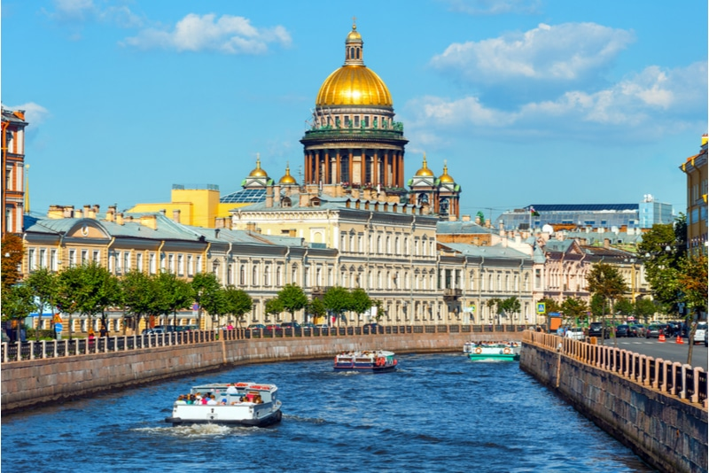 Things to do in Saint Petersburg Russia
