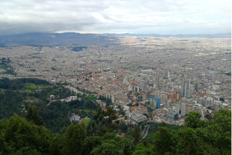 View from Mount Monserrate