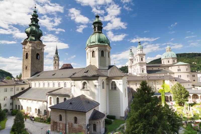 St. Peters Abbey in Salzburg