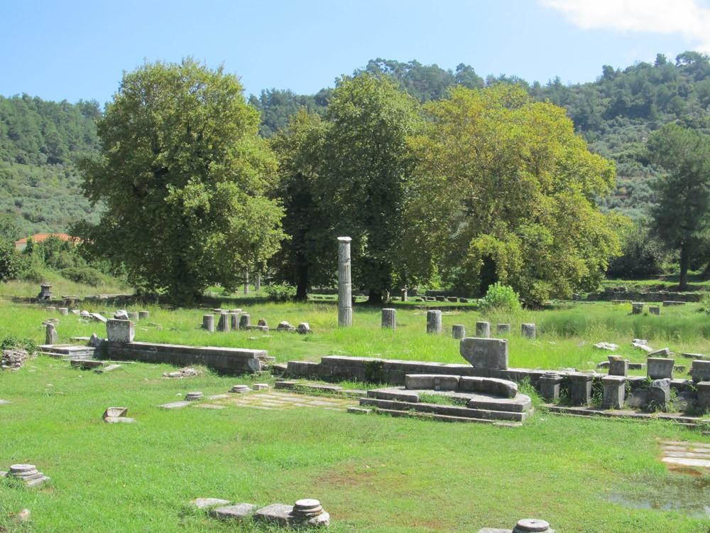 Ancient Agora in Thassos