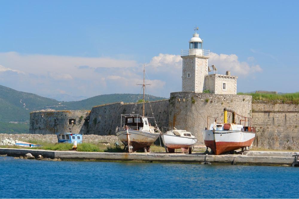 Castle of Agia Mavra