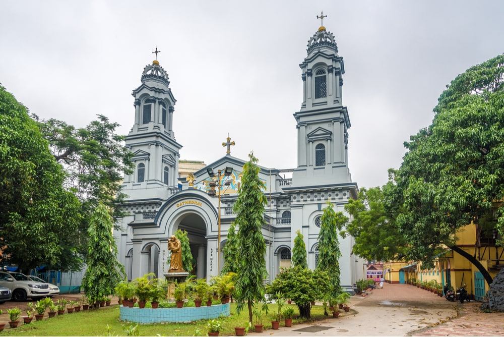 Cathedral of Most Holy Rosary in Kolkata