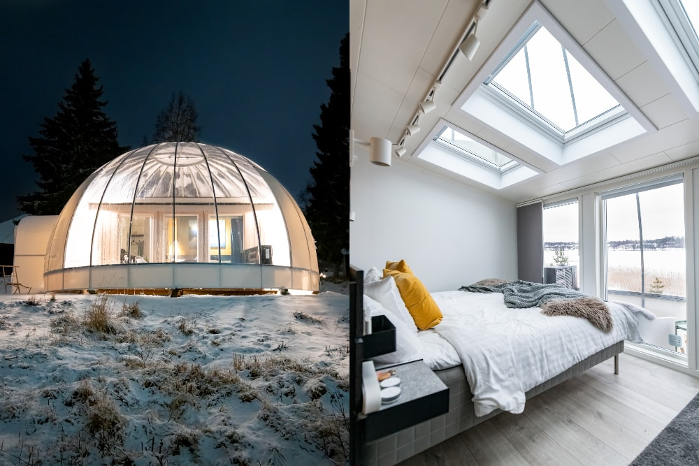 Ice and Light Village igloo
